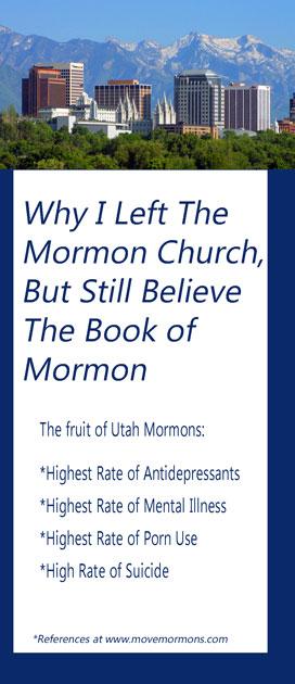 Tri-fold Brochure - Why I Left the Mormon Church